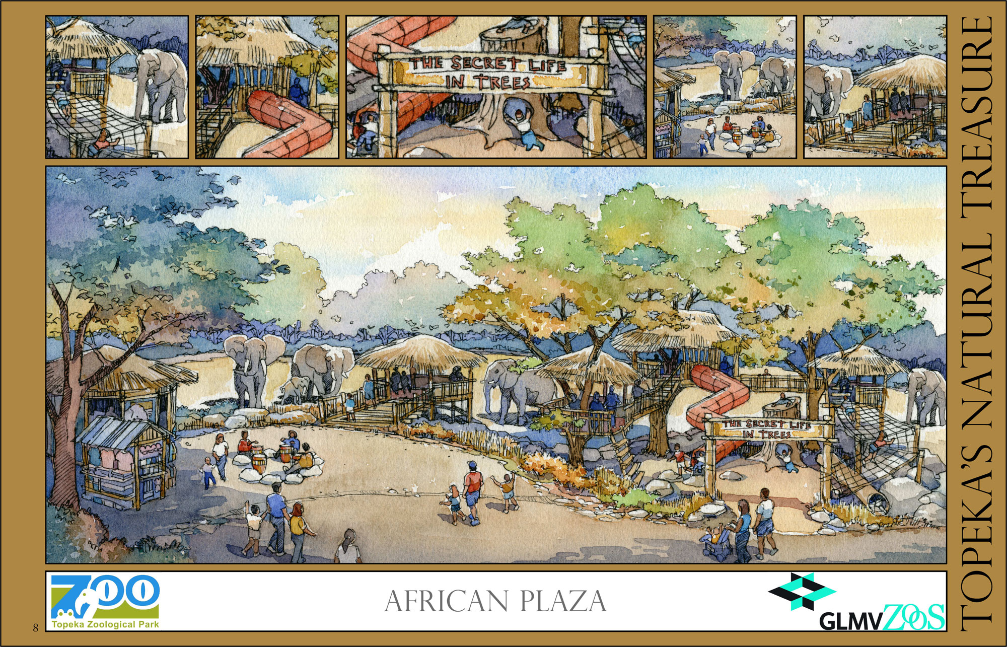 African Plaza