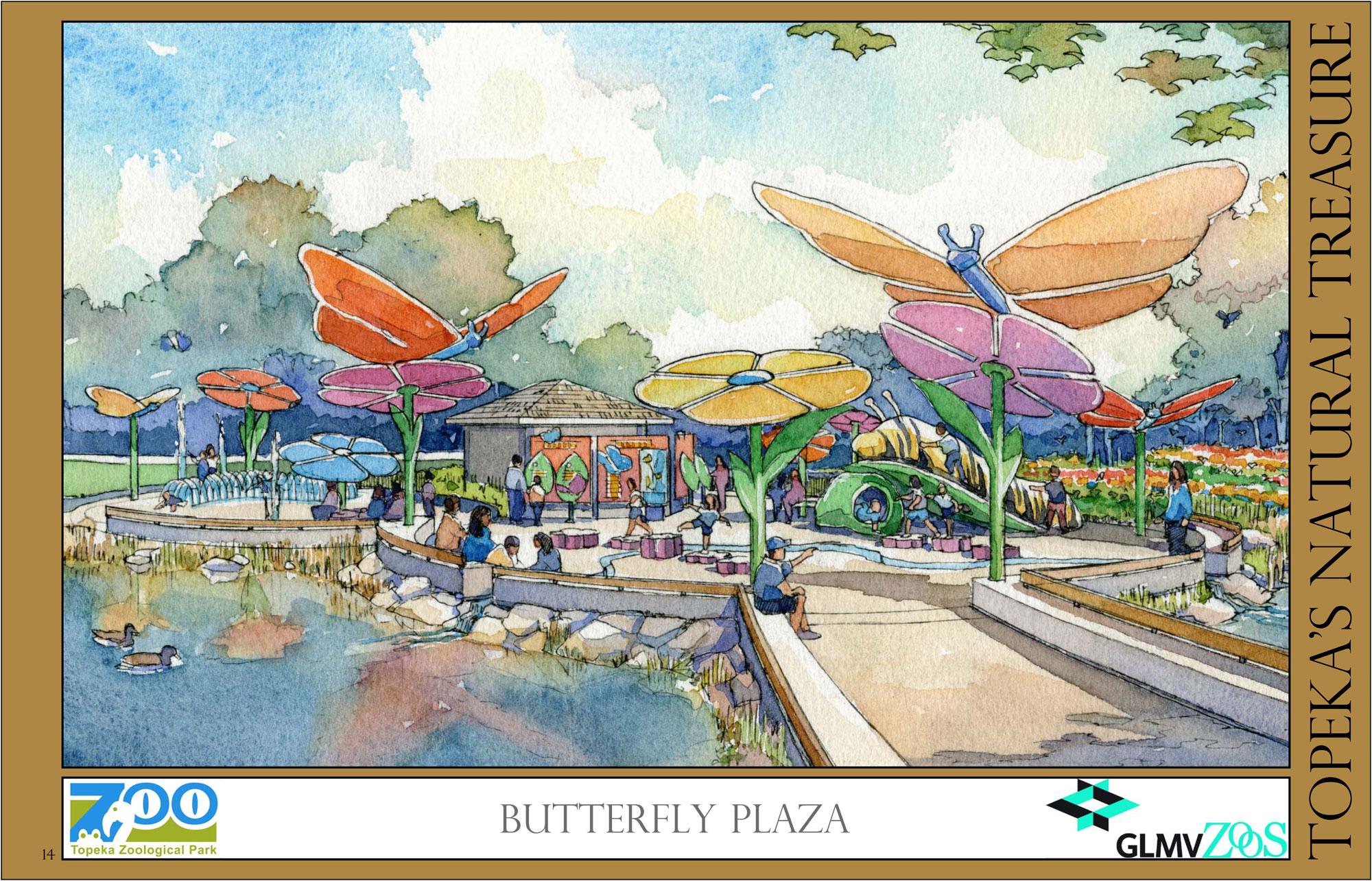Butterfly Plaza
