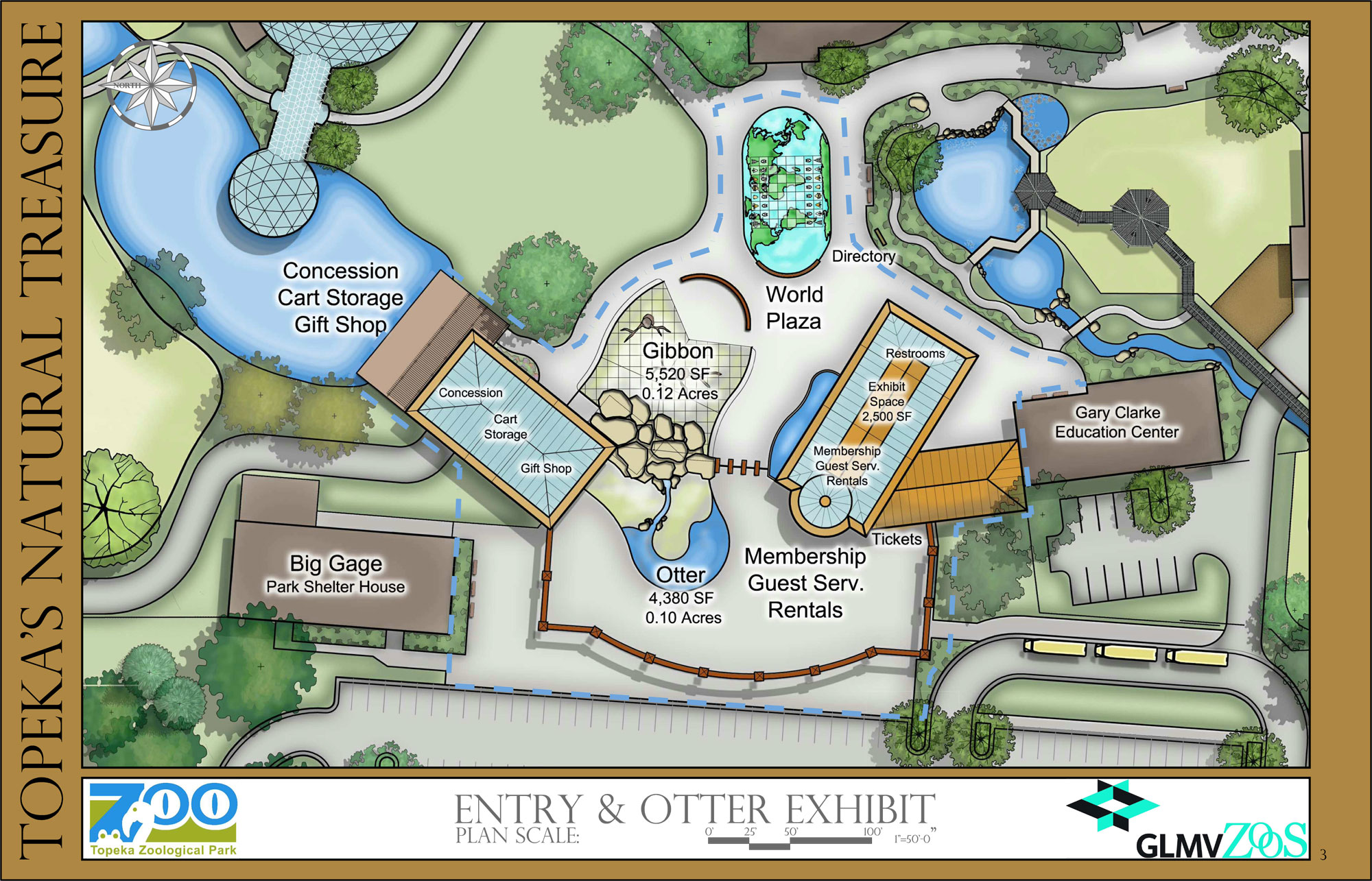 Entry & Otter Exhibit