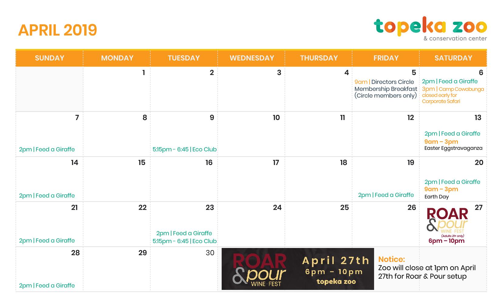 2019 Calendar - Months-02