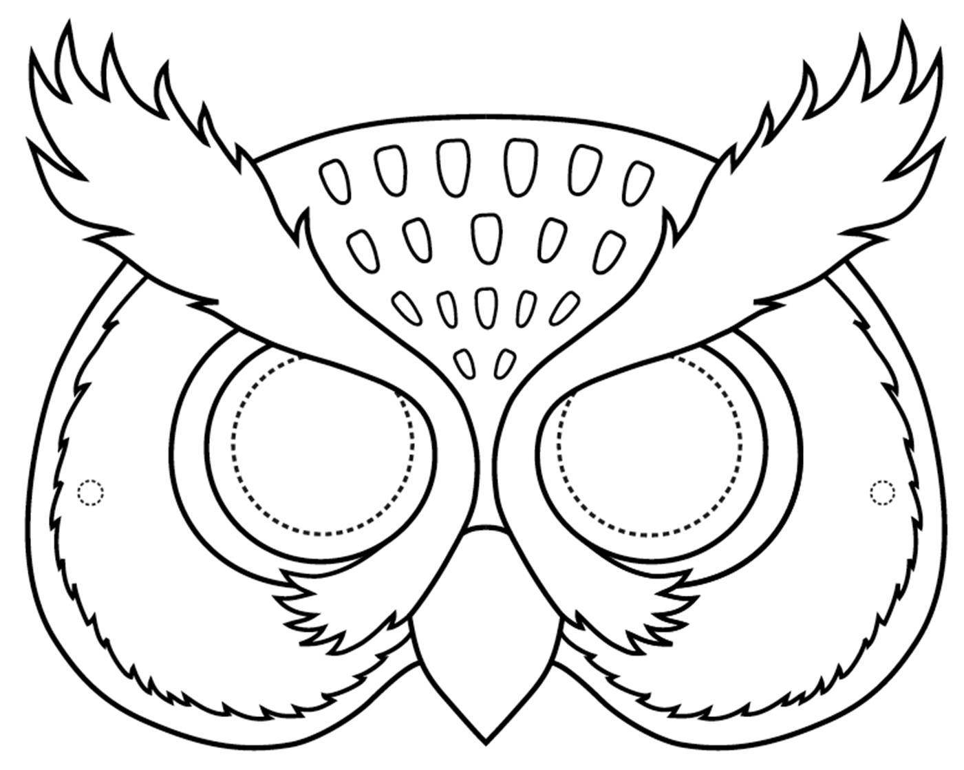 8b. Owl Mask