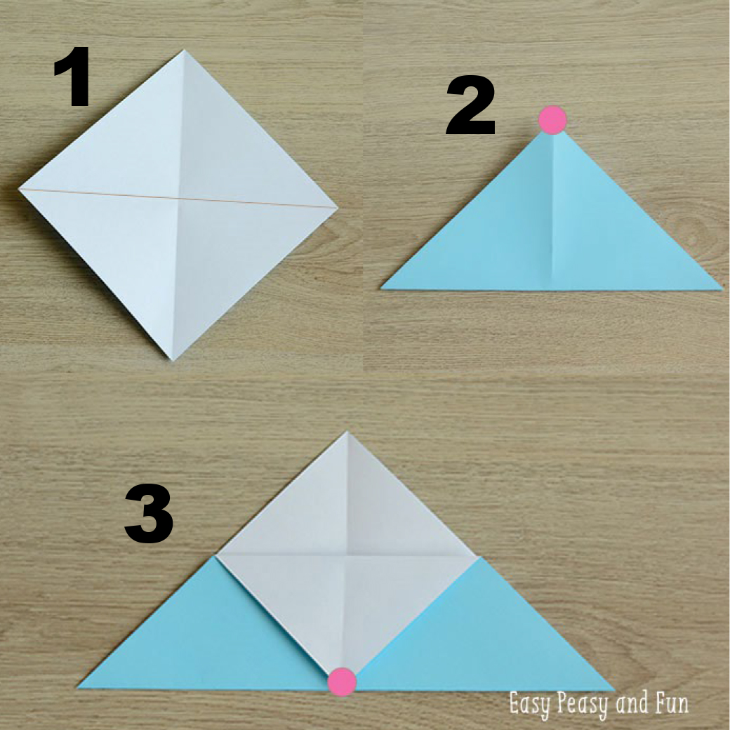 Origami Bookmark Instructions