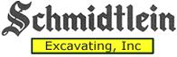 Schmidtlein Excavating Logo