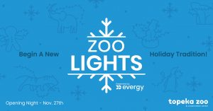 Zoo Lights event cover art